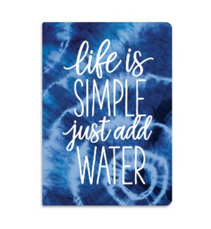Life Is Simple Softcover Journal