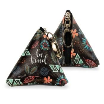 Be Kind Tiny Triangle Bag