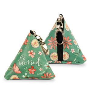 Blessed Small Triangle Bag
