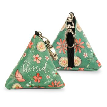 Blessed Tiny Triangle Bag