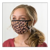 Cheetah Protective Cover Face Mask