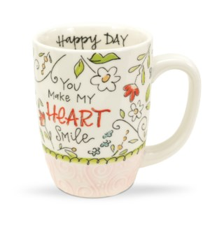 You Make My Heart Smile Gift Mug