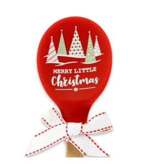 Merry Little Christmas Silicone Spoon