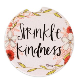 Sprinkle Kindness Car Coaster