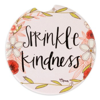 Sprinkle Kindness Car Coaster