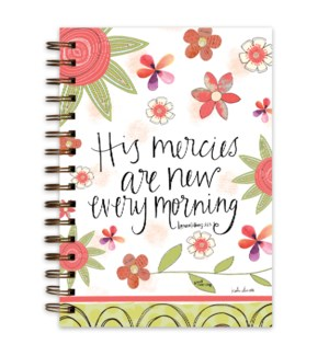 His Mercies Are New Every Morning Wire Bound Jrnl