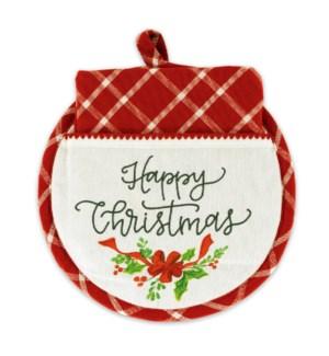 Happy Christmas Hot Pad & Tea Towel Set