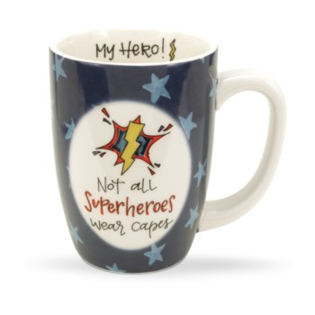 Not All Superheroes Wear Capes Gift Mug