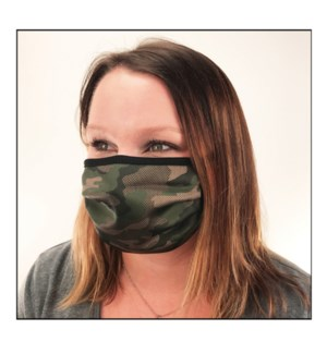 Casual Camo Protective Cover Mask