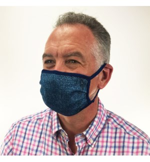 Denim Blue Protective Cover Mask