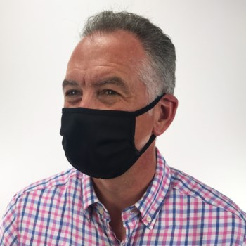 Classic Black Protective Cover Mask