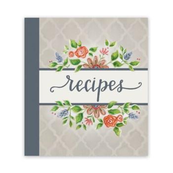 Lattice Floral Recipe Binder