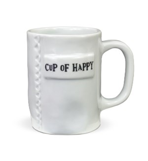 Cup Of Happy Artisan Home Mug