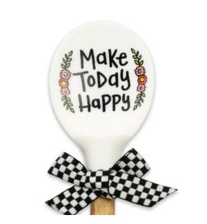 Make Today Happy Silicone Spoon ETA 6/20