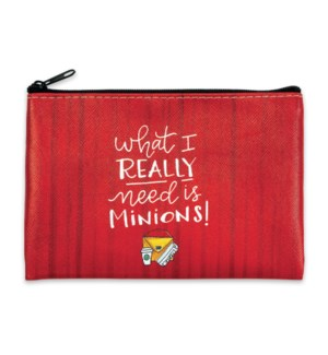 What I Really Need Is Minions! Coin Purse