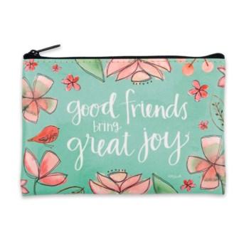 Good Friends Bring Great Joy Coin Purse