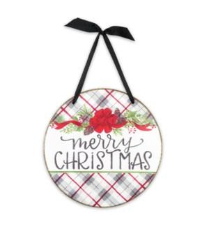 Merry Christmas Door & Wall Sign