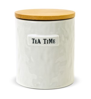 Artisan Home Round Tea Caddy With Lid