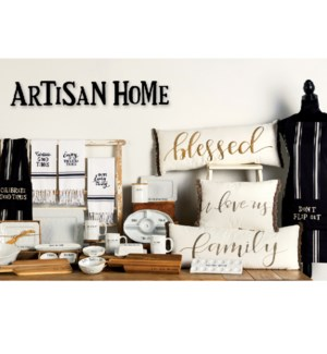 Artisan Home Make a Statement Display