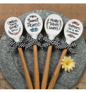 Silicone Sentiment Spoons Collection