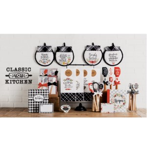 Classic Kitchen Statement Display