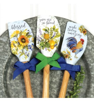 Kitchen Floral Spatulas Collection