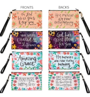 Inspirational Zippered Bags Collection