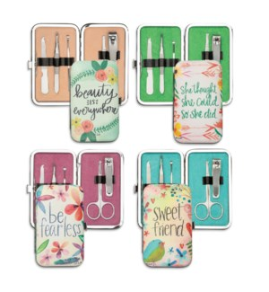 Simple Inspirations Floral Manicure Set Collection