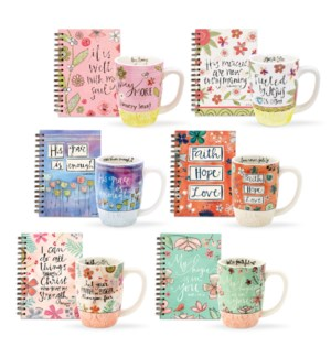 Scripture Mug & Journal Collection