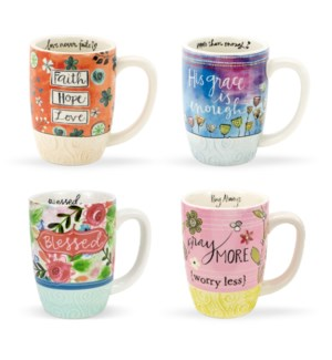 Simple Inspirations Mugs of Faith Collection