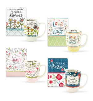 Encouraging Mug & Journal Collection