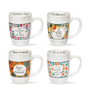 Floral Mug Collection