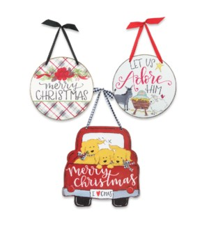 Christmas Door & Wall Hanging Sign Collection