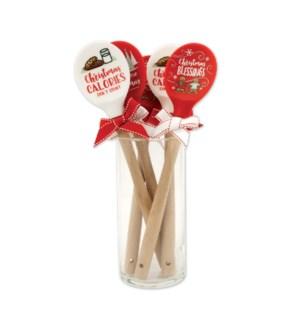 Happy Christmas Silicone Spoons Collection ETA 6/8