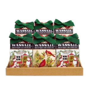 Christmas Plaid Wassail Collection