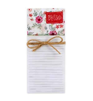 Blessed Magnetic List Pad