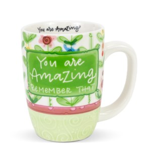 You Are Amazing Remember That Gift Mug