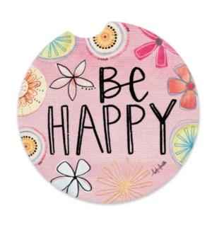 Be Happy Car Coaster ETA: 7/11