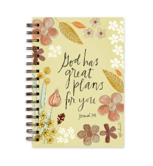 God Has Great Plans For You Wire Journal