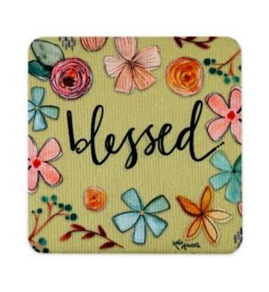 Blessed Neoprene Coasters 4 Pack