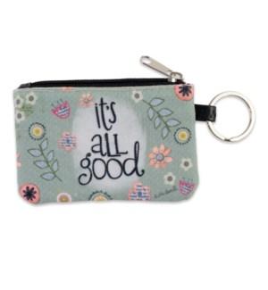 It's All Good ID Wallet Keychain