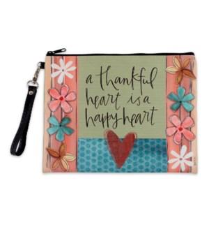 A Thankful Heart Make-Up Bag ETA: 7/2