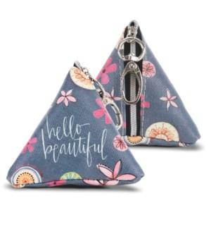 Hello Beautiful Tiny Triangle Bag