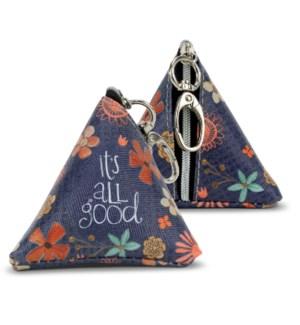 It's All Good Tiny Triangle Bag