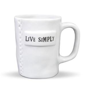 Live Simply Artisan Home Mug