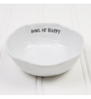Bowl of Happy Serving Bowl