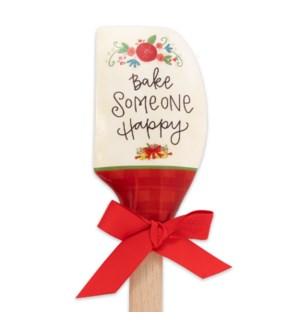 Bake Someone Happy Silicone Spatula
