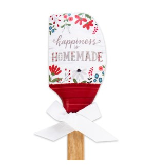 Happiness is Homemade Silicone Spatula