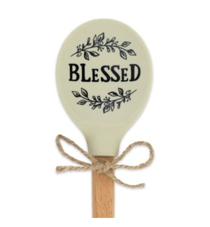 Blessed Silicone Head Spoon