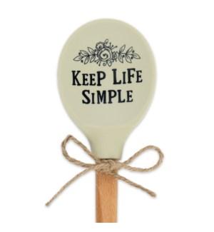Keep Life Simple Silicone Head Spoon